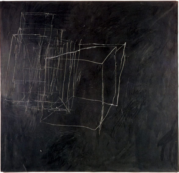 Cy Twombly - Night Watch, Rome (1966)