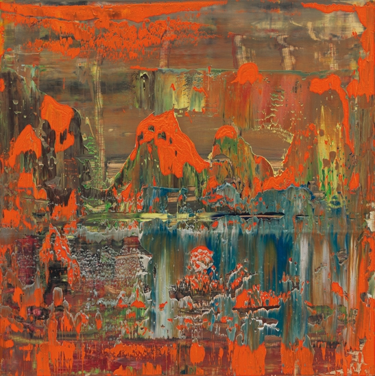 Abstract Painting 2008 - Gerhard Richter