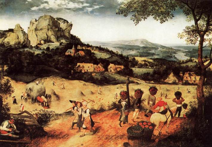 Haymaking (June/July) - 1565 - Pieter Bruegel