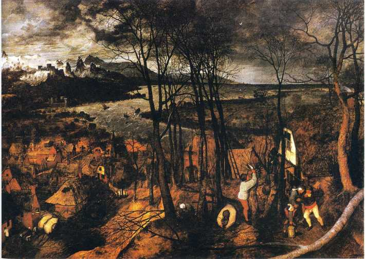 The Gloomy Day (February/March) - 1565 - Pieter Bruegel