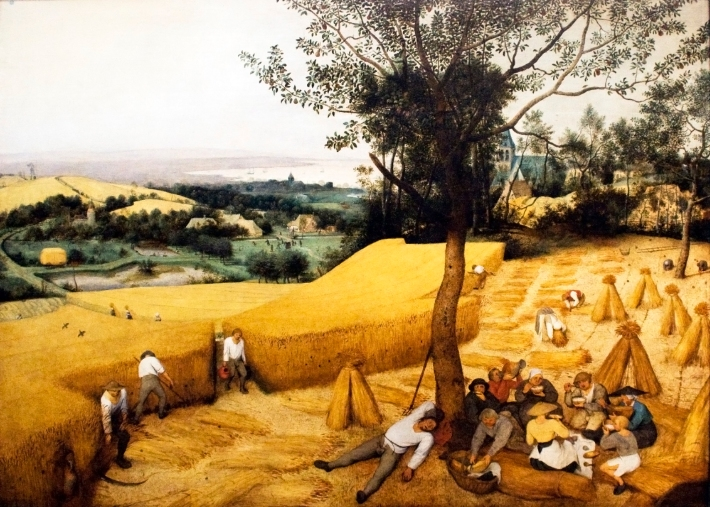 The Harvesters (August/September) - 1565 - Pieter Bruegel