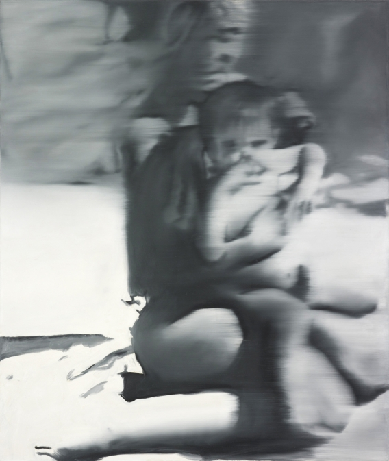 Woman with Child 1965 - Gerhard Richter