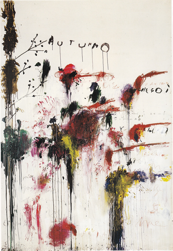 Autumno - 1993-1995 - Cy Twombly
