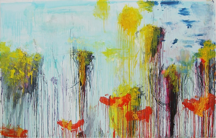 Lepanto (panel 7 of 12) - 2001 - Cy Twombly