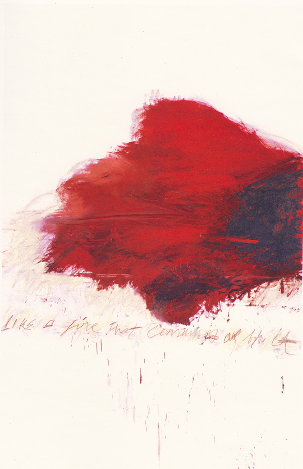 Like a fire that consumes all before it - 1978 - Cy Twombly