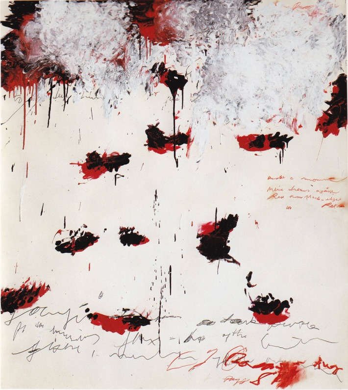 Petals of Fire - 1989 - Cy Twombly