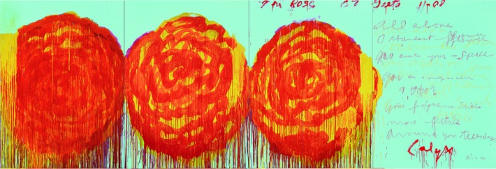The Rose III - 2008 - Cy Twombly