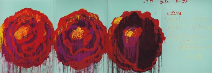 The Rose IV - 2008 Cy Twombly