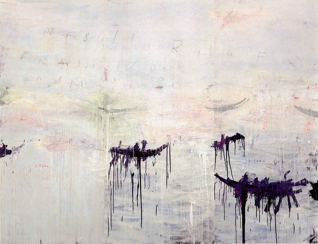 Part Of Art : Cy twombly view from a burrow