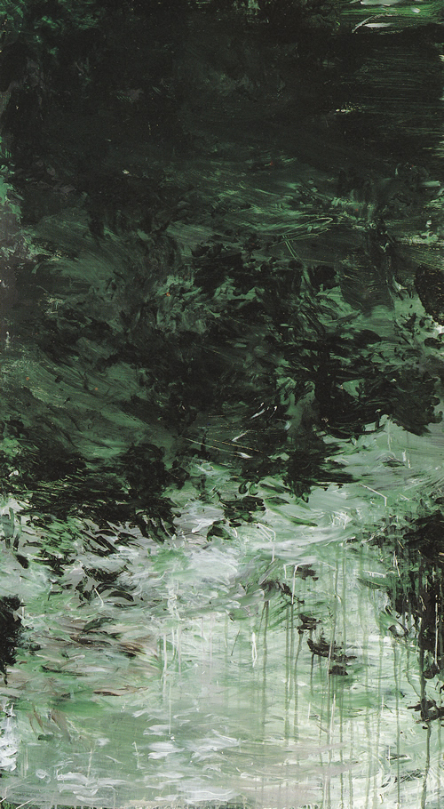 Untitled part VIII (a painting in 9 parts) - 1988 - Cy Twombly