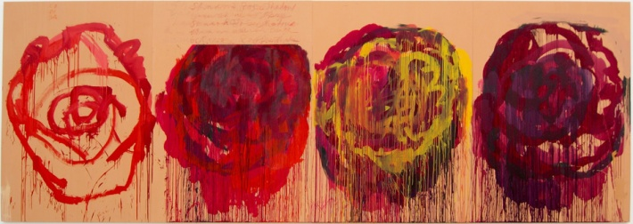 Untitled (Roses) Gaeta - 2008 - Cy Twombly