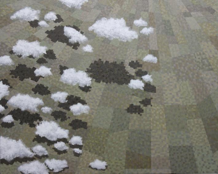 "Icarus - 24""x30"" - oil on canvas - January 2014 - Michael Burris Johnson"