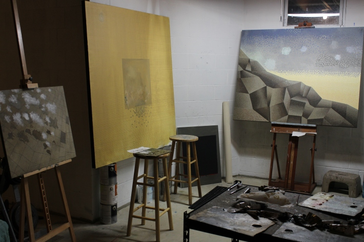 studio - afternoon of January 30, 2014