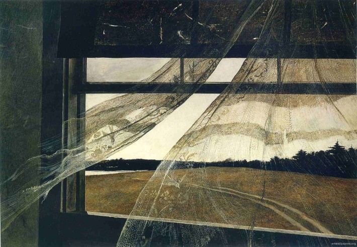 Wind From the Sea - 1947 - Andrew Wyeth