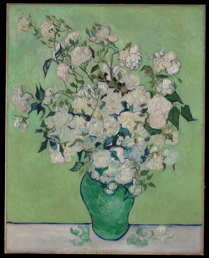 Vincent van Gogh - Roses - 1890
