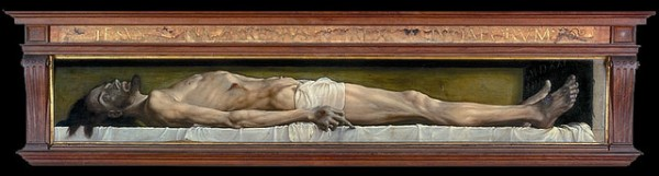 Hans Holbien - Christ's Body in the Tomb - 1520-1522