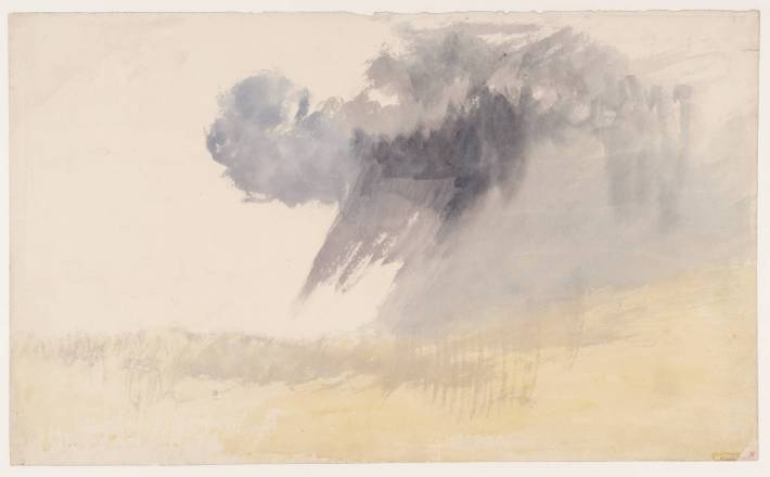 The Storm Clouds circa 1820-30 by Joseph Mallord William Turner 1775-1851