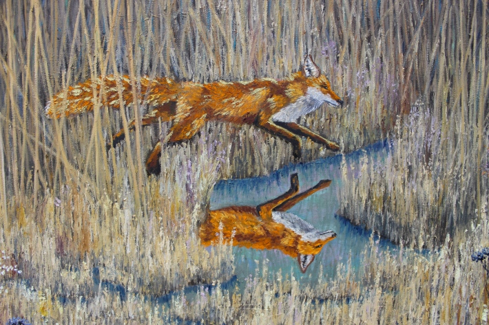 Between the Reeds (Detail 2)