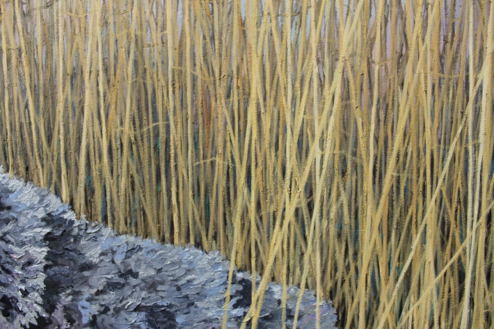 Between the Reeds (Detail 6)