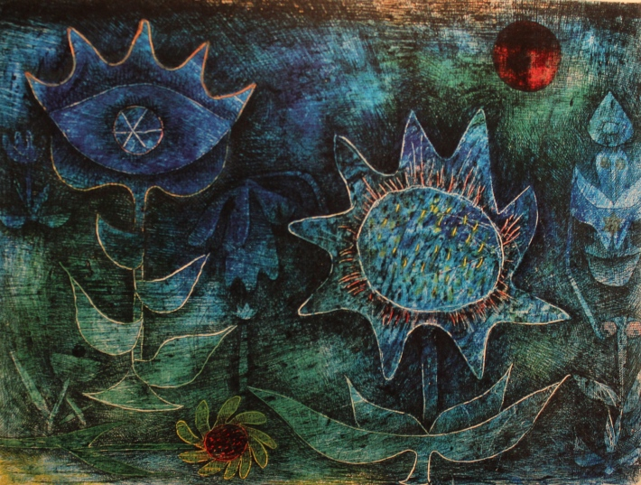 Paul Klee - Flowers in the Night - 1930
