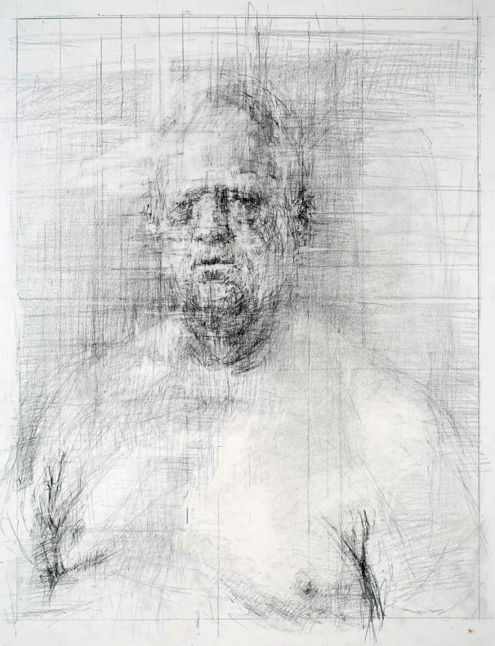 Peter 14 x 11 inches graphite on paper 2014
