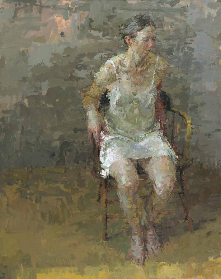 Rachel, 2007 Oil on canvas 58 x 46 inches