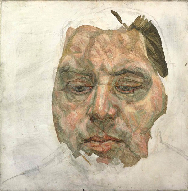 Lucian Frued painting of Francis Bacon