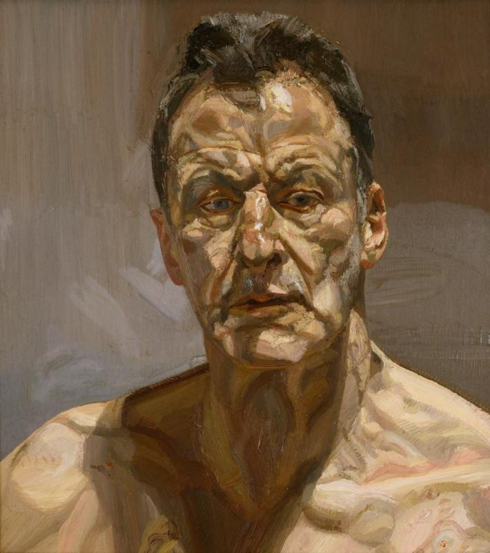 Lucian Freud self-portrait