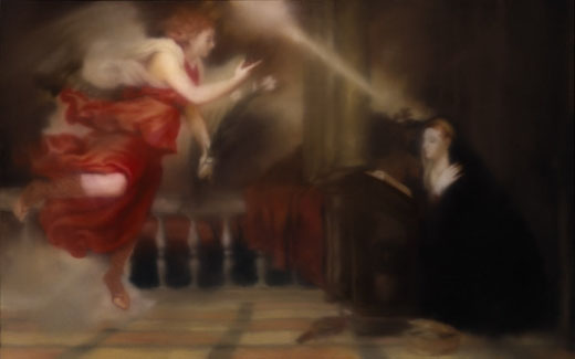 6-Annunciation-after-Titian-1973-1
