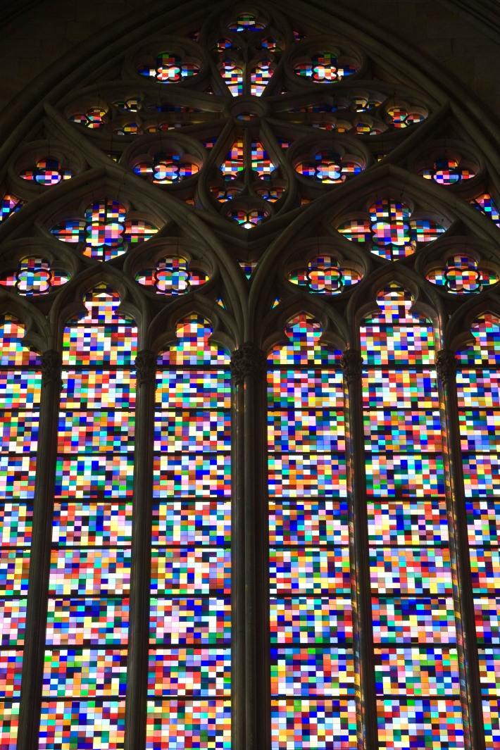Kirchenfenster von Gergard Richter