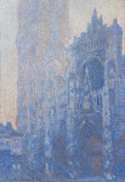 Claude_Monet_-_Rouen_Cathedral_Façade_and_Tour_d'Albane_(Morning_Effect)_-_Google_Art_Project